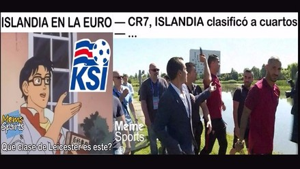 Euro 2016: Islandia protagoniza memes tras vencer a Inglaterra en octavos