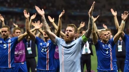 Eurocopa 2016: Islandia y el alucinante haka tras eliminar a Inglaterra