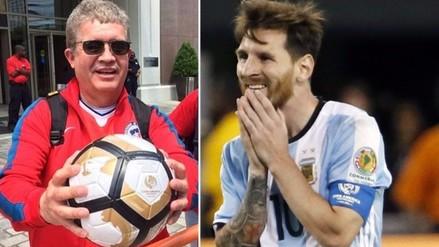 Lionel Messi: hincha se quedó con pelota del penal que falló la 'Pulga'