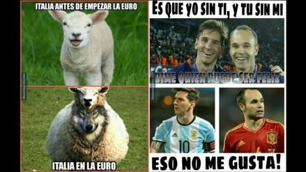 Eurocopa 2016: los memes de la eliminación de España a manos de Italia