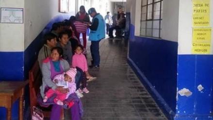 Neumonía: dos muertes por bajas temperaturas en Otuzco