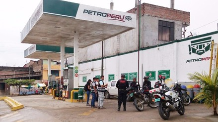 Fiscalía Anticorrupción interviene grifo por robo de combustible en Policía Nacional