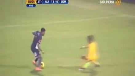 Alianza Lima: Lionard Pajoy emuló a Ronaldo con este golazo