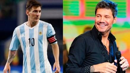 YouTube: Lionel Messi recibió palabras de aliento de Marcelo Tinelli