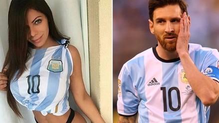 Lionel Messi: Mis Bum Bum le pidió que no deje la Selección de Argentina