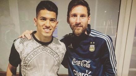 Lionel Messi llegó a Rosario a pasar vacaciones junto a su familia