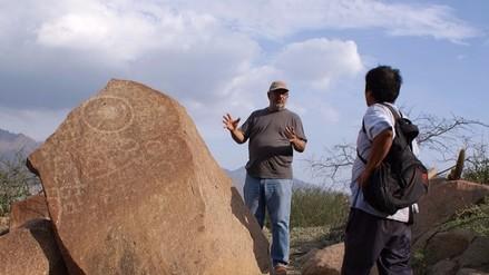 Especialistas restaurarán petroglifo de La Puntilla en distrito de Pátapo