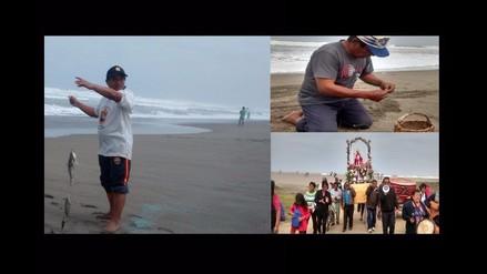 Ascope: pescadores compiten en concurso por el Día de San Pedro