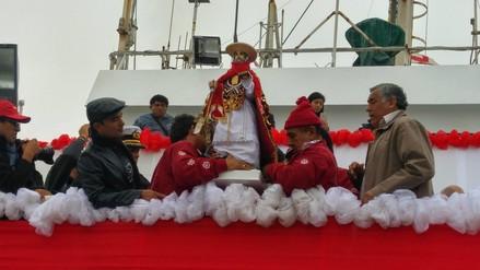 Chimbote: realizan procesión de imagen de San Pedro