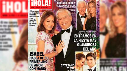 Mario Vargas Llosa le pidió matrimonio a Isabel Preysler