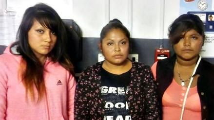 Trujillo: detienen a tres mujeres acusadas de robar en supermercado