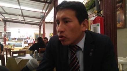 Amenazan de muerte a regidor de la Municipalidad Provincial de Cajamarca