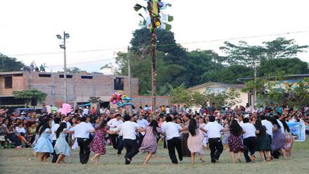 Moyobamba: pobladores celebraron fiesta de San Pedro con danza y procesión