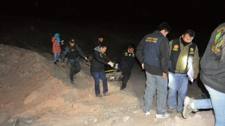 Adolescente hallado muerto en vía Majes-Huambo pereció por asfixia