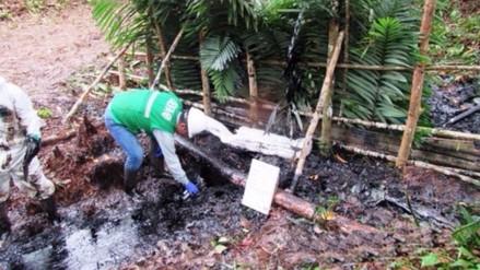 Petroperú da conocer sus alcances sobre derrame de petróleo en Loreto