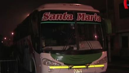 Niña muere arrollada por bus interprovincial en Santa Anita