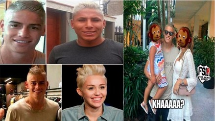 Facebook: cambio de look de James Rodríguez generó divertidos memes