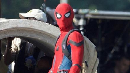 Spider-Man: así luce Tom Holland con el traje del héroe de Marvel