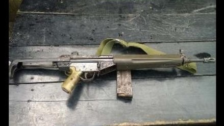 Apurímac: roban pistolas y fusiles AKM de comisaría de Cotaruse