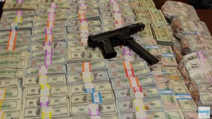 Miami: narcotraficante escondía US$ 24 millones en paredes de su casa