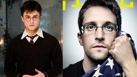 Edward Snowden actuará con Harry Potter