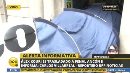 Alex Kouri fue trasladado al penal Piedras Gordas de Ancón