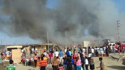 Chimbote: treinta familias damnificadas tras incendio piden ayuda