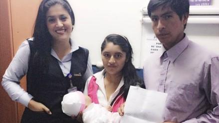 Trujillo: inscriben en Reniec a bebé que fue secuestrada