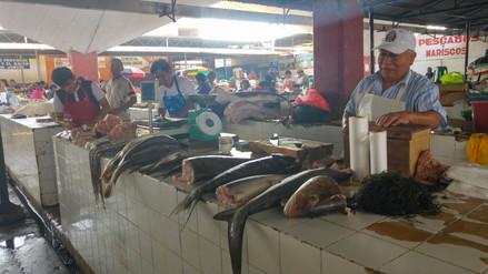 Precio del pescado aún se mantiene elevado en mercados de Chiclayo