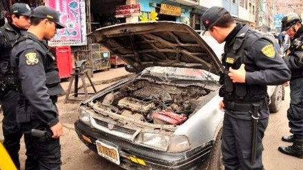 Policía Nacional recuperó 93 vehículos robados y busca a sus dueños