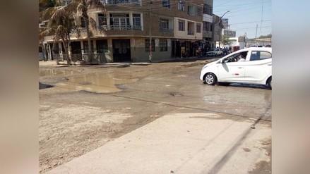 Chiclayo: aniego afecta tránsito y salud de vecinos