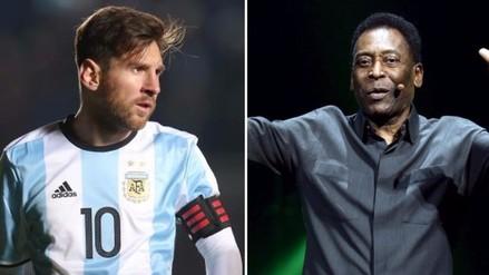 Lionel Messi: Pelé se une al pedido para que vuelva a la Selección Argentina