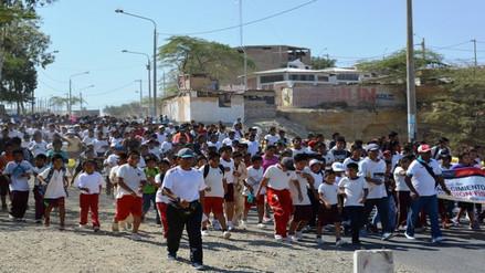 Piura: promueven V Carrera Familiar Escolar en Paita