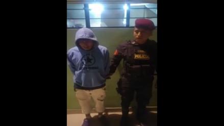 Chosica: capturan a dos sujetos con droga en Carapongo
