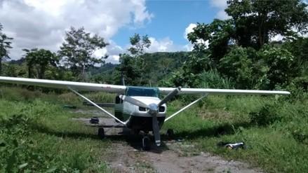 Avioneta se estrella en campo de cultivo en Pucallpa