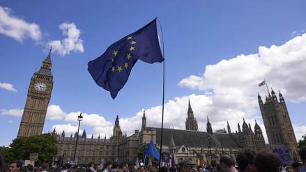 Miles protestaron en Londres contra el