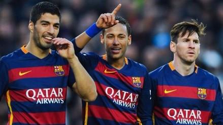 Messi, Neymar y Luis Suárez: ¿Cuánto costaría fichar al tridente del Barcelona?