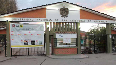 Universidad San Cristóbal de Huamanga cumple 339 años de fundación