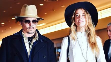 Johnny Depp se corrige tatuaje en honor a Amber Heard
