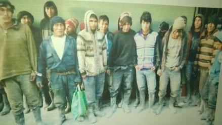 Pataz: detienen a 25 sujetos implicados en robo de mineral