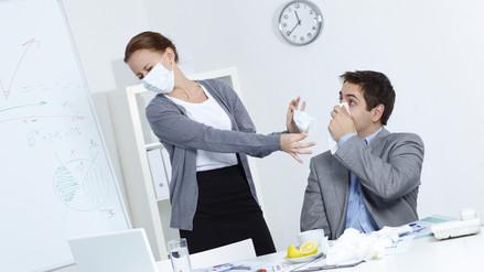 Gripe entre principales causas de ausentismo laboral
