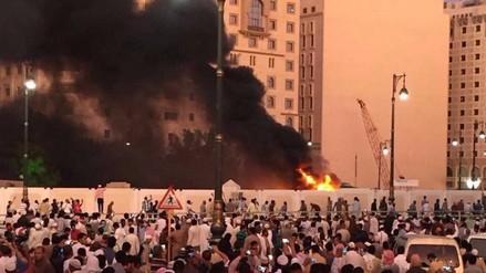 Al menos 4 muertos en ataque suicida cerca a mezquita en Arabia Saudita