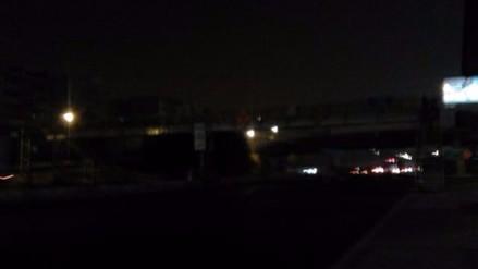 Panamericana Sur: vecinos temen robos por poca iluminación de puente