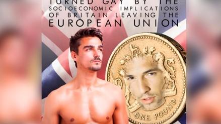 Twitter: novela gay sobre Brexit  remece las redes sociales