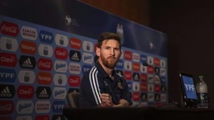 YouTube: 'Dios' le pide a Messi que no deje la Selección Argentina