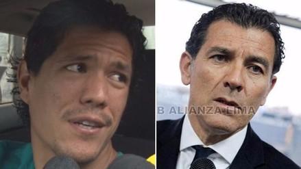Alianza Lima: Óscar Vílchez y el fuego cruzado con Gustavo Zevallos
