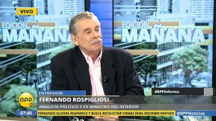 ¿Fernando Rospigliosi será el ministro del Interior de PPK?