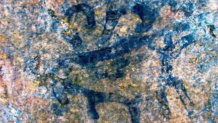Así es la pintura rupestre hallada cerca a ciudadela de Machu Picchu