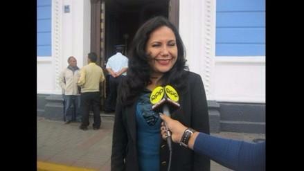 Congresista Gloria Montenegro sí cobrará S/. 15 mil 600 por gasto de instalación