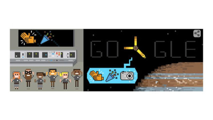 Google celebra la llegada de sonda Juno a Júpiter